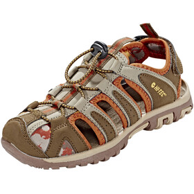 Hi-Tec Cove Shoes Junior boxed brown/cinnamon/core gold